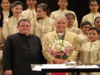 Medley for a maestro: Zubin Mehta serenaded by Shillong Chamber Choir for 80th birthday