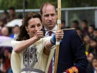 The royal visit: Britain's William and Kate try archery in Bhutan