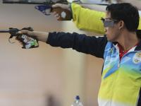 ISSF World Cup: Jitu Rai pips three-time Olympic champion to claim silver in 10m air pistol