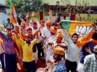 MCD Election 2017 Results: In Sonia Vihar, BJP supporters break into celebrations