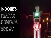 Watch: Indore gets India's first traffic control robot