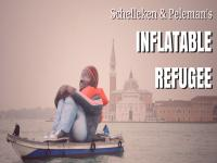 Watch: The Inflatable Refugee art installation that hopes to eliminate fear