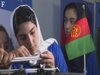 Watch: 'Happy' Afghan girls compete at robotics meet after US visa woes