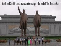 Watch: North and South Korea mark anniversary of the end of the Korean War
