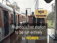 Watch: Mumbai's Matunga Station becomes the first to be run entirely by women