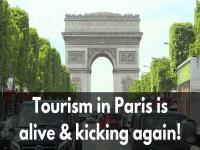 Watch: Paris tourism alive and kicking again after terror doldrums