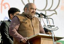 Ahead of battleground Uttar Pradesh, Amit Shah meets state BJP leaders
