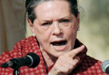 BJP workers protest outside Sonia Gandhi's residence over Batla encounter case
