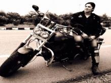 End of the road: India's famed woman biker Veenu Paliwal dies in an accident