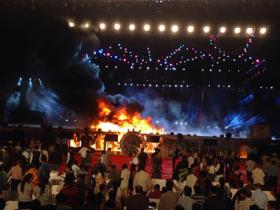 Fire breaks out during 'Make in India' cultural event in Mumbai, no casualties reported