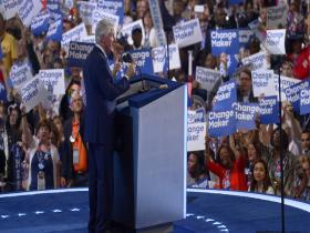 'Best change-maker I have known': Bill Clinton makes a strong case for Hillary as US prez