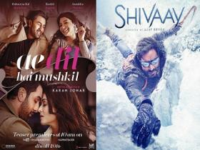 Ae Dil Hai Mushkil teaser shows it's 'game on' versus Shivaay at the box office