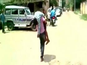 Kanpur tragedy: Ailing son dies on father's shoulders after being denied entry into three hospitals