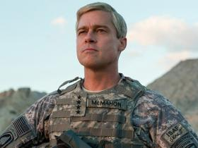 War Machine review: Brad Pitt struggles to make his character McMahon more than a caricature
