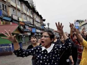 Gorkhaland protests: GJM holds demonstration in Darjeeling, all-party meet tomorrow in Kalimpong