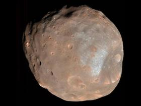 Solar activity can electrically charge the moons of Mars, making it difficult for future missions