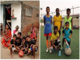 In Chennai's slums, football is more than a sport; it's a key to a better way of life