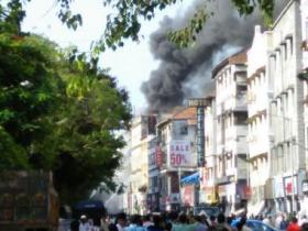 Watch: Fire erupts in building near south Mumbai's Regal Cinema; none hurt
