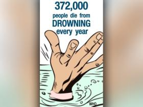 Watch: WHO says drowning kills 3 lakh people every year