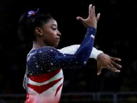 Watch: At 19, Simone Biles has already become the golden girl of US gymnastics