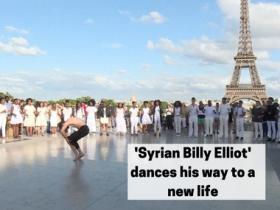 Watch: 'Syrian Billy Elliot' dances his way to a new life