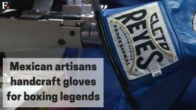 Watch: Mexico artisans handcraft gloves for boxing legends