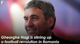 Watch: Gheorghe Hagi spearheading a football revolution in Romania