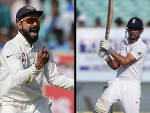 India vs England, 4th Test, Day 2, Live cricket scores and updates: Vijay brings up fifty