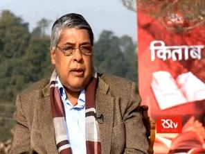 An unusual television talk show, Kitab on Rajya Sabha TV is dedicating airtime to discussing books