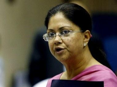 On official website, Raje govt defends ordinance shielding judges and babus, says amendment will curb 'false cases'
