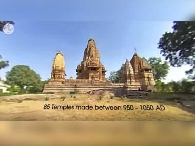More than erotica, a 360° walk through the temples of Khajuraho, Madhya Pradesh
