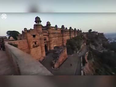 Gwalior Fort: In this 360 degree video, we take you on a walk through this magnificent monument