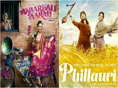 Phillauri, Anarkali of Aarah and Naam Shabana triple whammy:  Women's stories finally in vogue