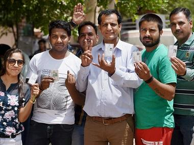 MCD Election 2017: Voting ends with around 54% turnout as faulty EVMs, heat keep voters away
