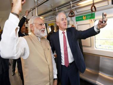 Australian PM Malcolm Turnbull's 4-day India visit in pictures