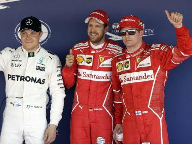 Russian Grand Prix: Sebastian Vettel on pole as Ferrari lock out front row after gap of 9 years