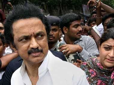 MK Stalin accuses Centre of destabilising Tamil Nadu; says BJP favouring Panneerselvam camp