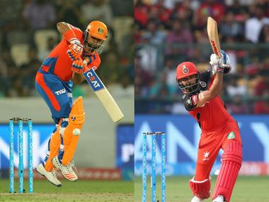 LIVE, IPL 2017, RCB vs GL at Bangalore, cricket scores and updates: RCB reeling after losing 3 wickets in 4 balls