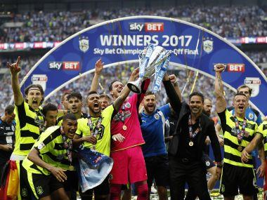 Huddersfield Town promoted to Premier League after penalty drama in play-off final