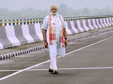 Three years of Narendra Modi govt: Development leads BJP as Opposition parties struggle to unite