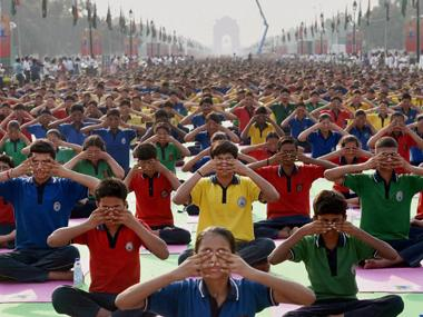 Ahead of International Yoga Day, govt to declare 100 parks for the activity