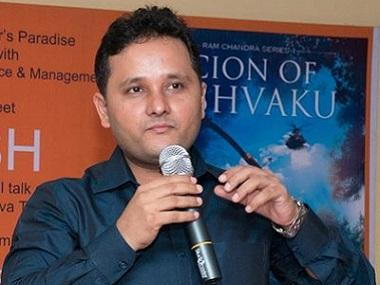 Amish Tripathi: 'My portrayal of Sita is closely aligned with Valmiki's Adbhut Ramayana'