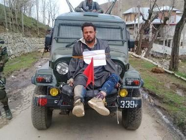 Major Leetul Gogoi, officer who tied Kashmiri man to army jeep, honoured for counter-insurgency ops