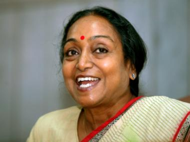Presidential Election 2017: Meira Kumar to file nomination on Wednesday, senior Congress leaders to accompany