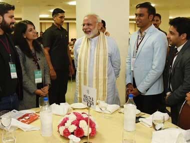Narendra Modi at Champions of Change event: Govt taking steps to uproot 'institutionalised corruption'