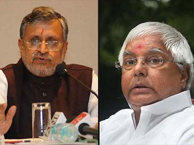 Sushil Modi says Congress 'mortgaged' party to RJD in Bihar; Lalu Yadav has last say in decisions