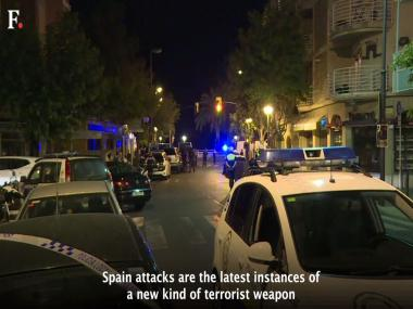 Barcelona terror attack: A look at the new weapons of terrorism and why they are effective