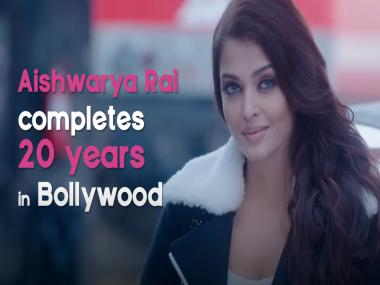 As Aishwarya Rai completes 20 years in Bollywood, here's a look back at her career
