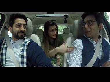 Caraoke: Kriti Sanon, Ayushmann Khurrana groove to songs from Bareilly Ki Barfi while on the road
