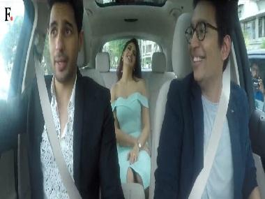 Caraoke: A Gentleman Sidharth Malhotra and co-star Jacqueline Fernandez take a musical ride